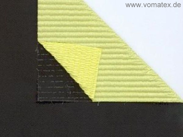 PTFE coated glass fabric, black, one side self-adhesive