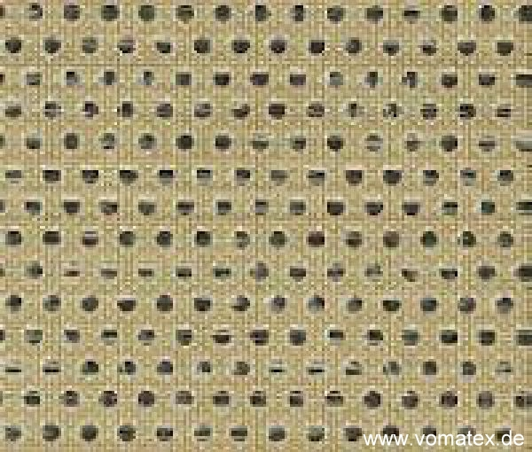 PTFE coated glass fabric, brown, perforated