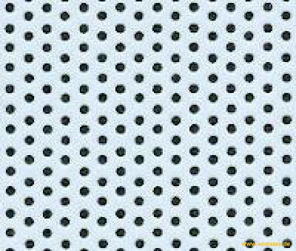 PTFE foil, white, perforated